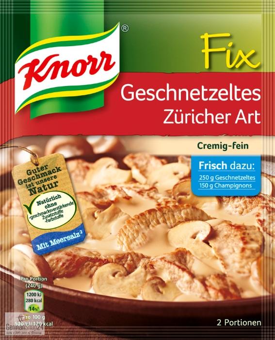 Party Balloons Zurich: Knorr Fix For Geschnetzeltes Zurich Style