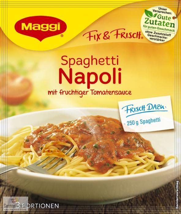 Maggi Fix & Fresh Spaghetti Napoli | {Maggi fix 45}