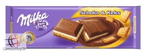 Milka Choco & Biscuit