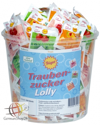 Trauben Zucker Lolly