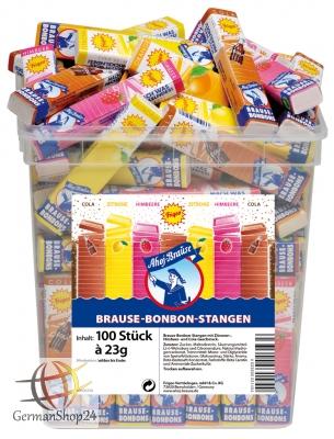 Frigeo Ahoj fizzy candy sticks 100-pc