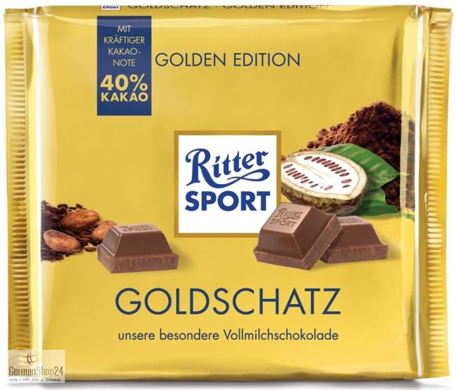 Ritter Sport Golden Edition 8 82 Oz