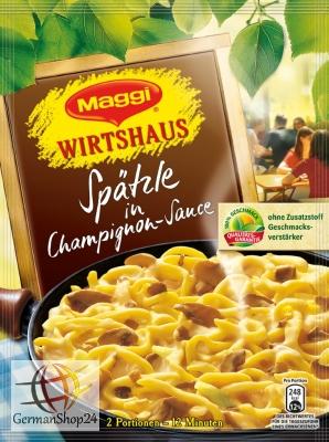 Maggi Wirtshaus Spaetzle In Mushroom Sauce