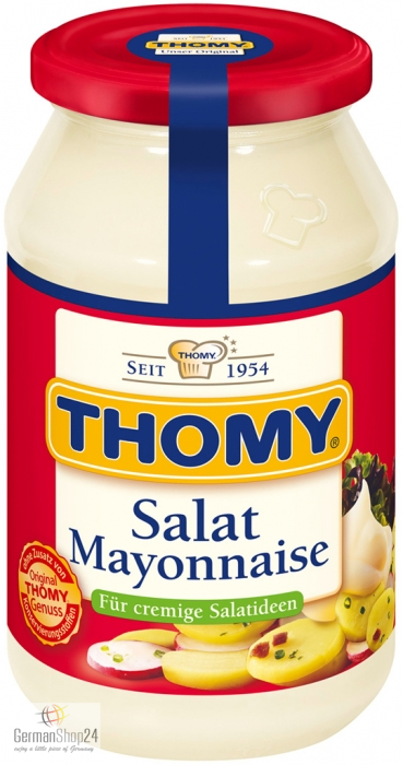 Thomy Salad Mayonnaise 16 9 Fl Oz Jar