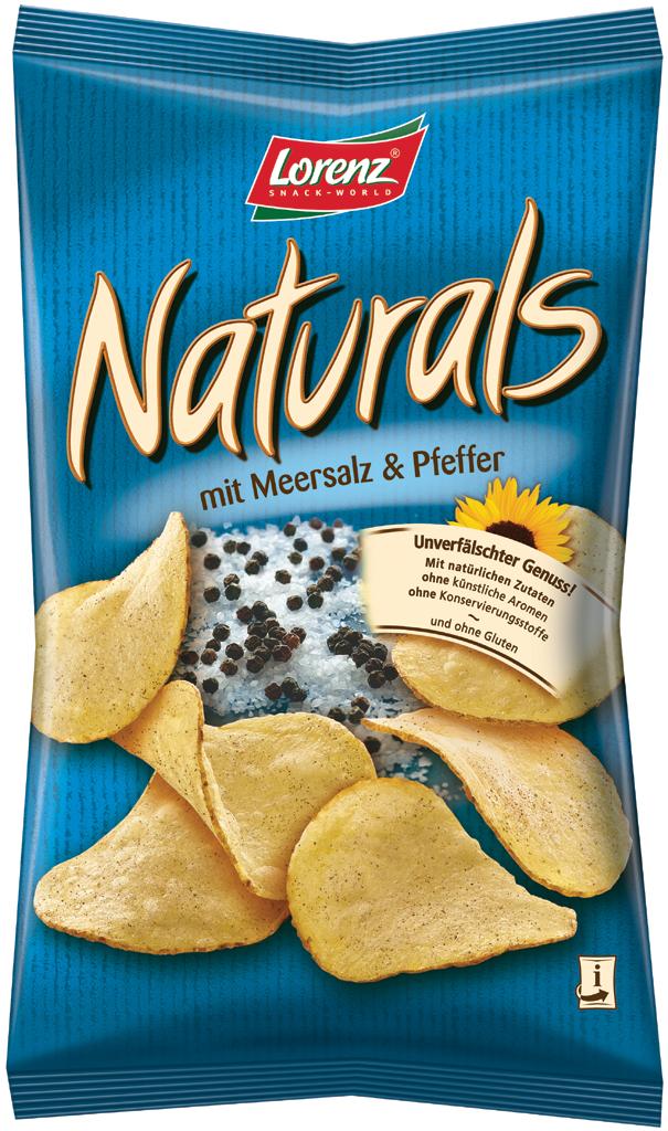 Lorenz Naturals Sea Salt And Black Pepper