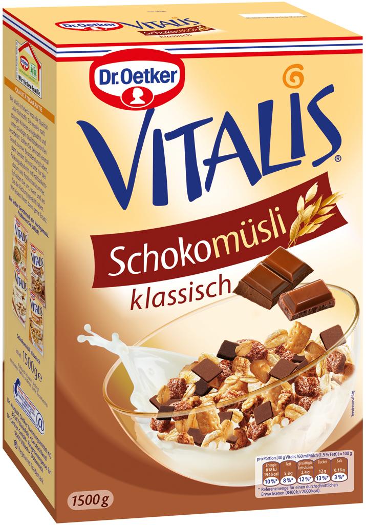 Vitalis Classic Chocolate Muesli 3 31 Lbs