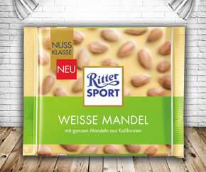 Ritter Sport White Almond