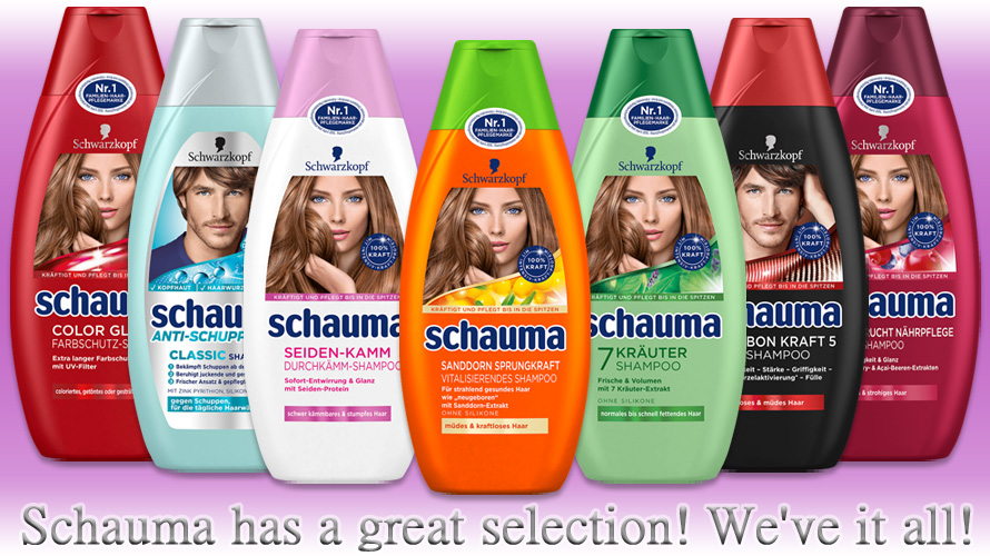 Schauma provides shampoos and conditioners for any type of hair. Why not trying something new?