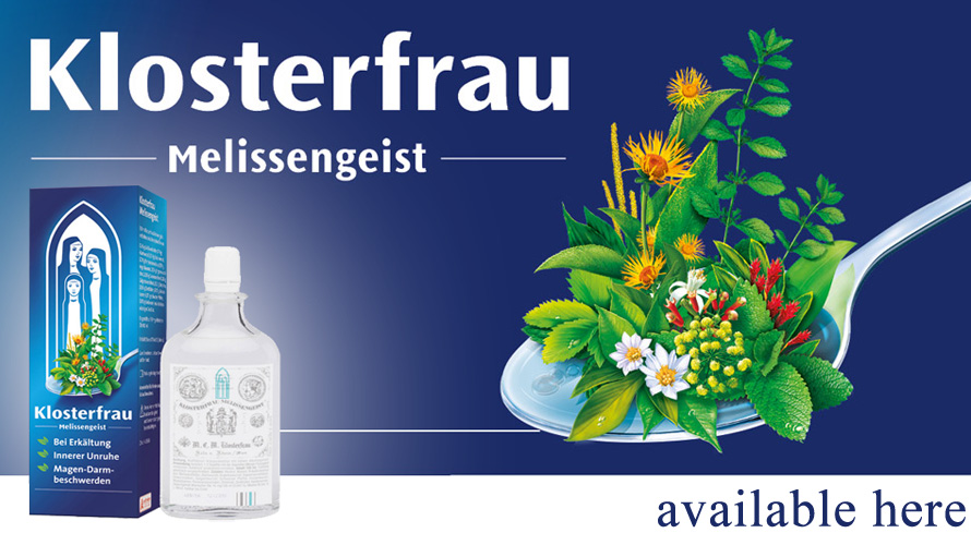 Klosterfrau Melissengeist − A natural remedy that has been known for decades.