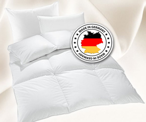 Have a comfortable, relaxing and healthy sleep. Made in Germany.