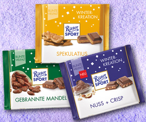 Try the new Ritter Sport Winter Variety Spekulatius!