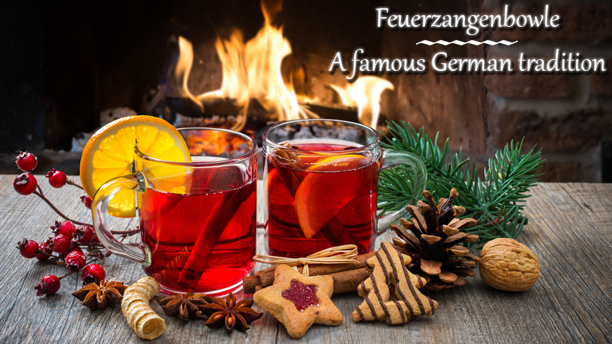Feuerzangenbowle simply belongs to Christmas and New Year's Eve and is a German tradition