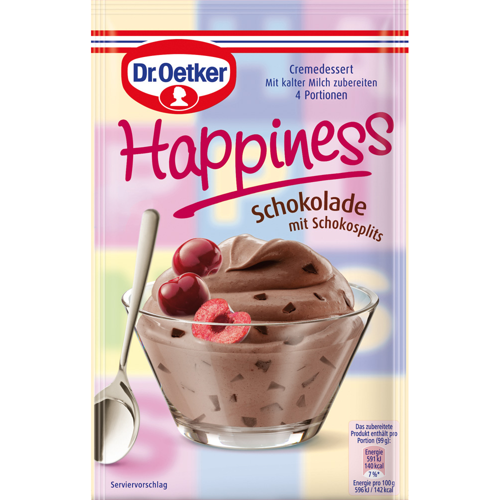 Dr Oetker Happiness Chocolate