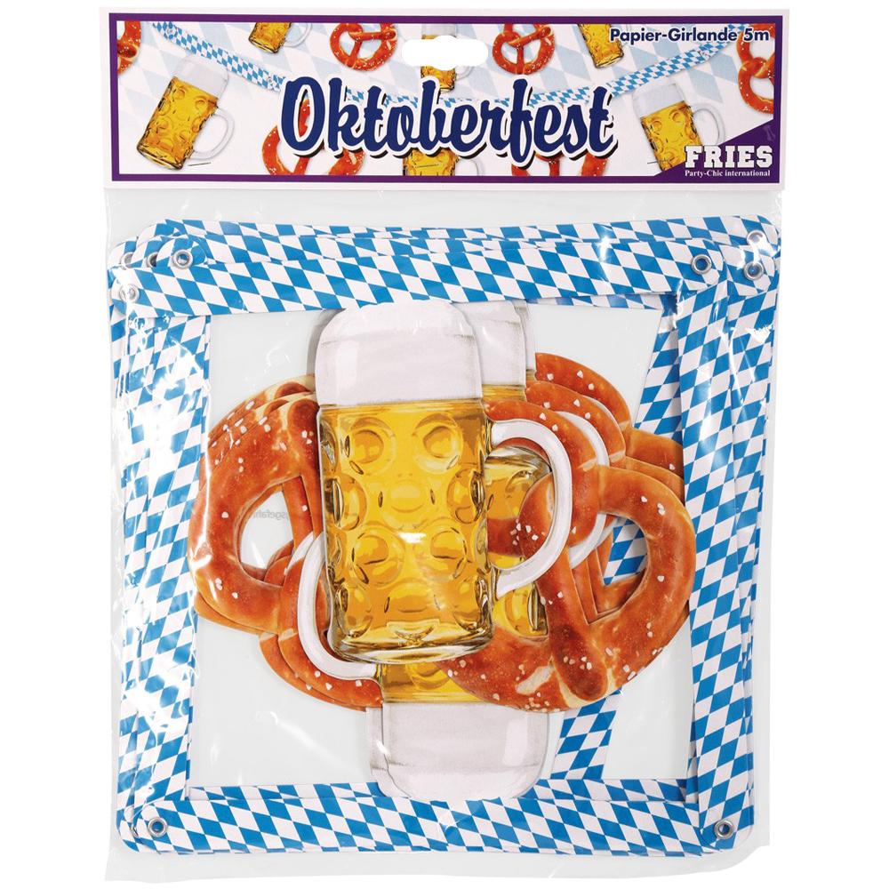 Beer and Pretzel Garland