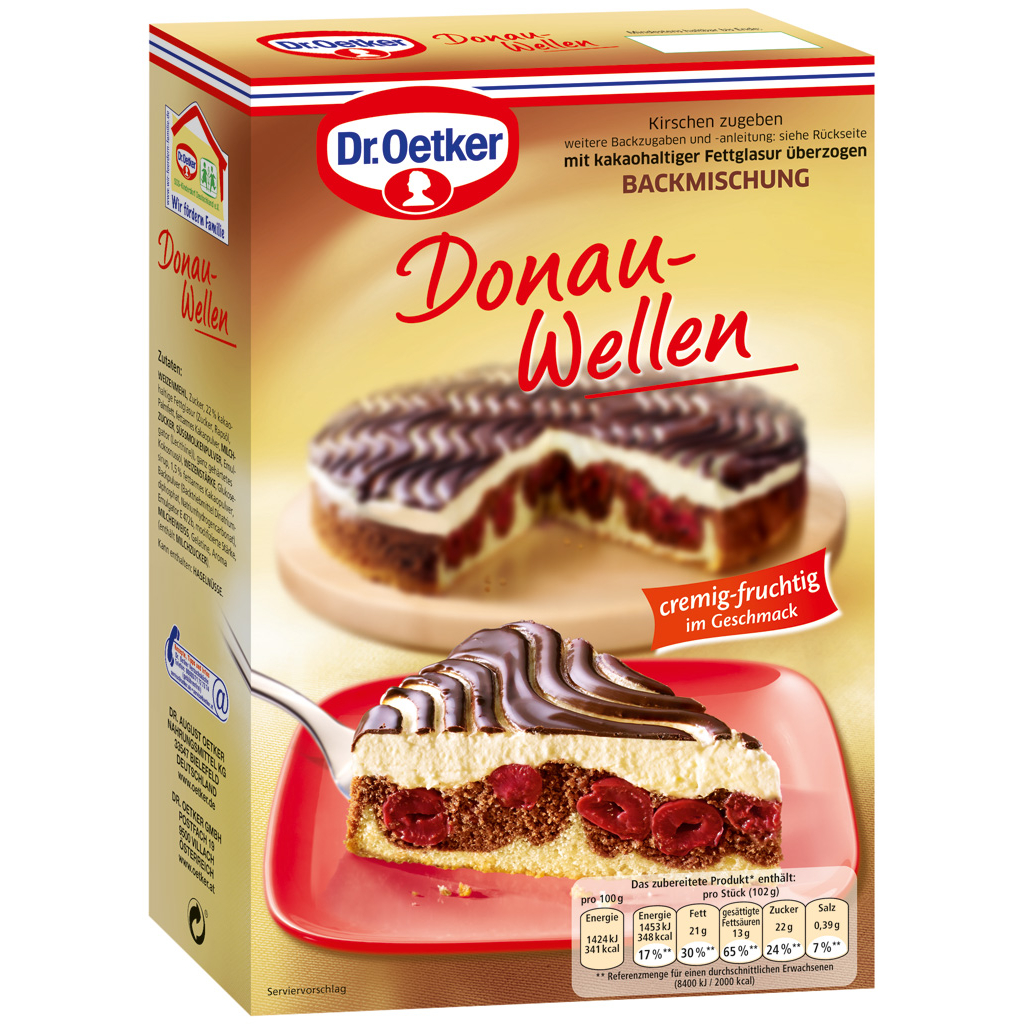 Donau Wellen Cake Mix