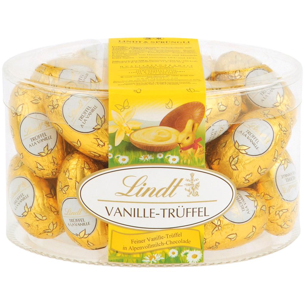 Vanilla Truffle Eggs
