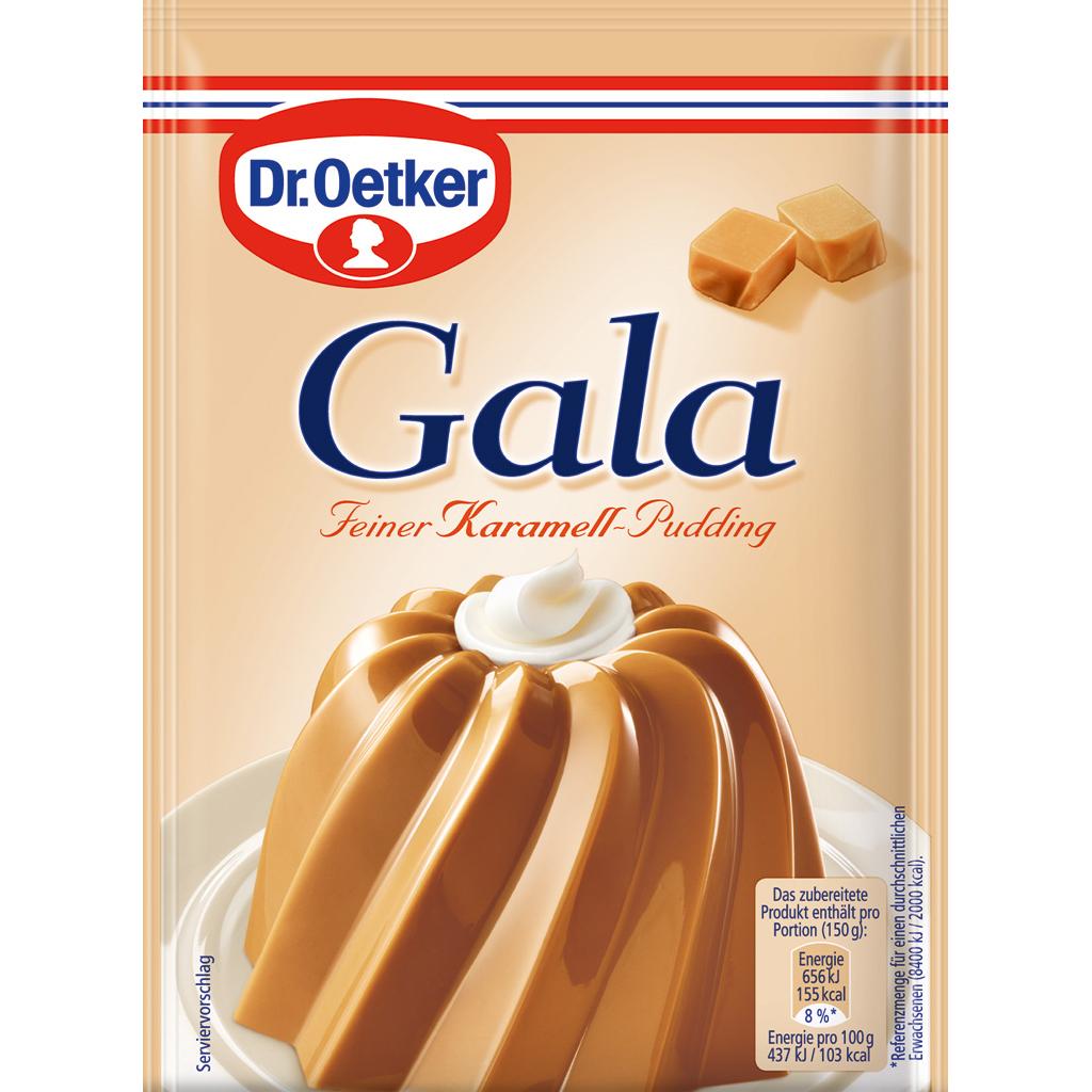 Dr Oetker Gala Pudding -Caramel - 3 pack