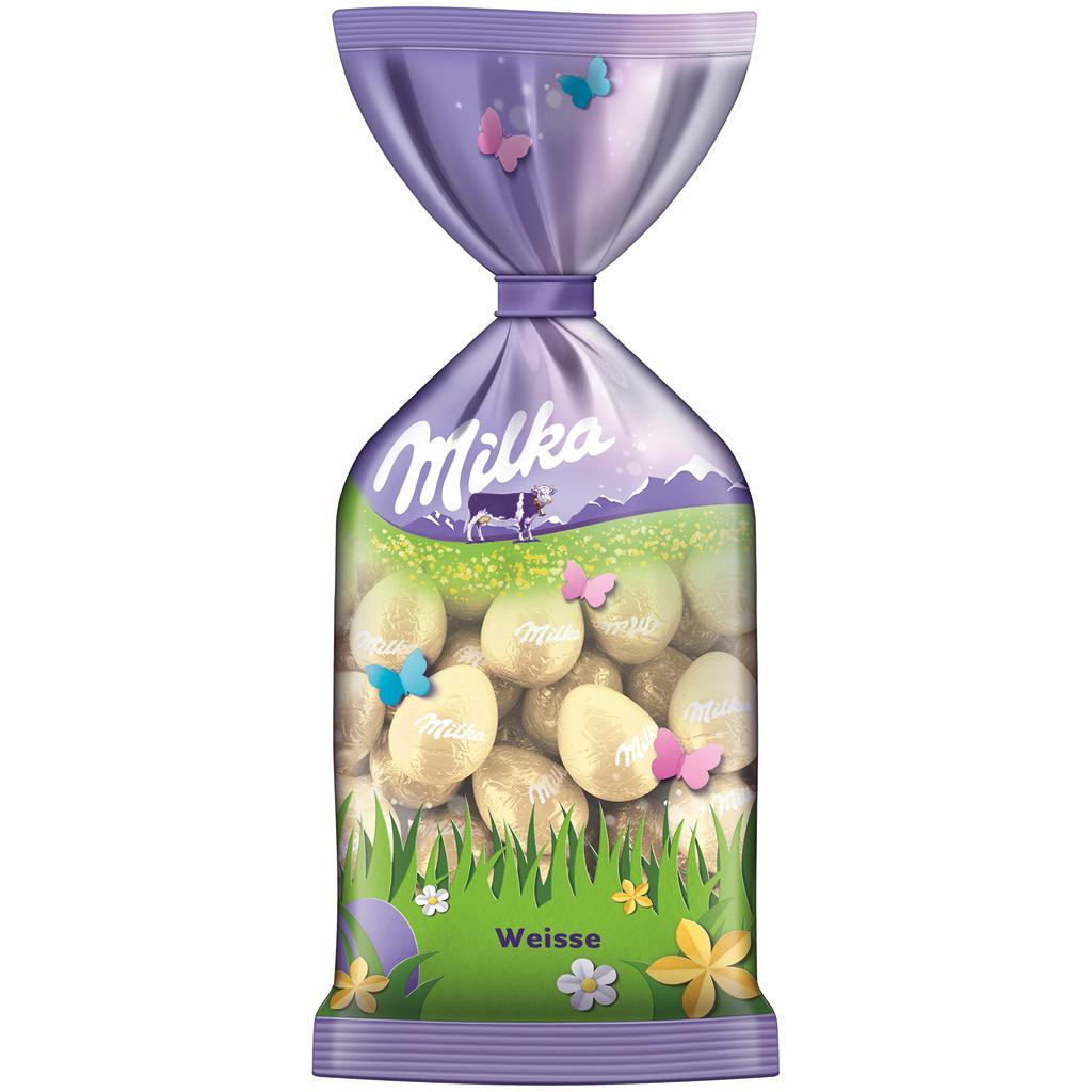 Milka White Eggs