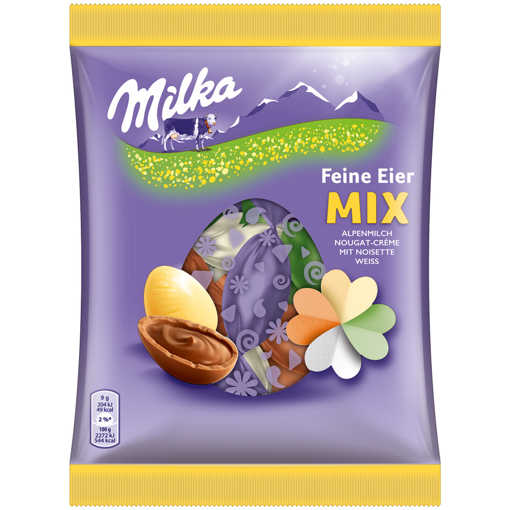 Milka Fine Chocolate Eggs