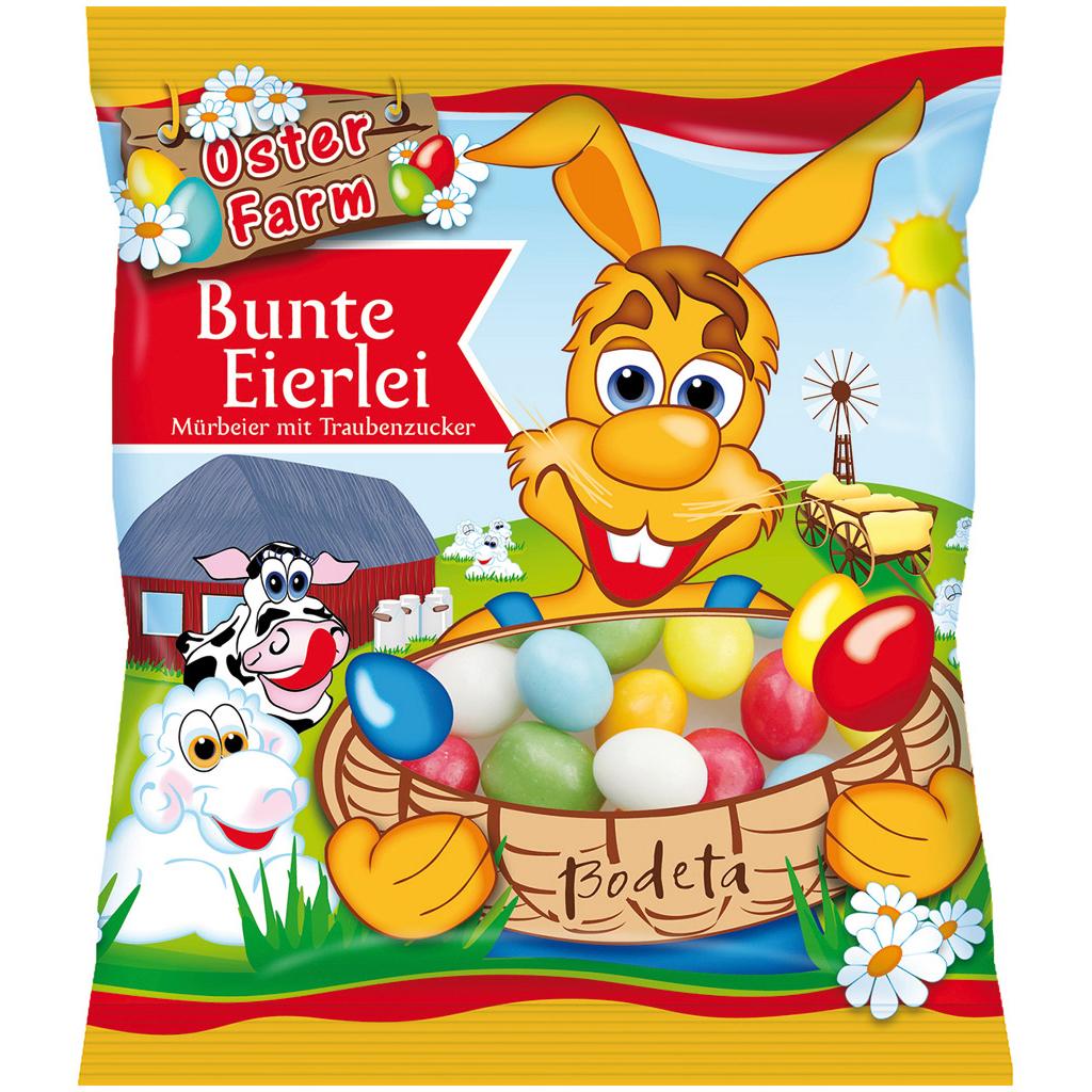 Colorful Fondant Eggs