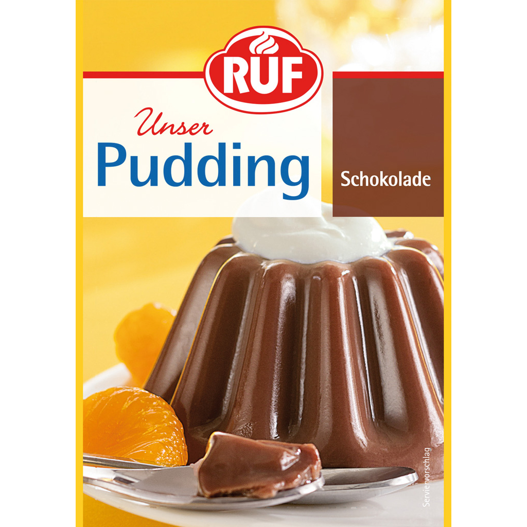 Ruf CHocolate Pudding 3 pack