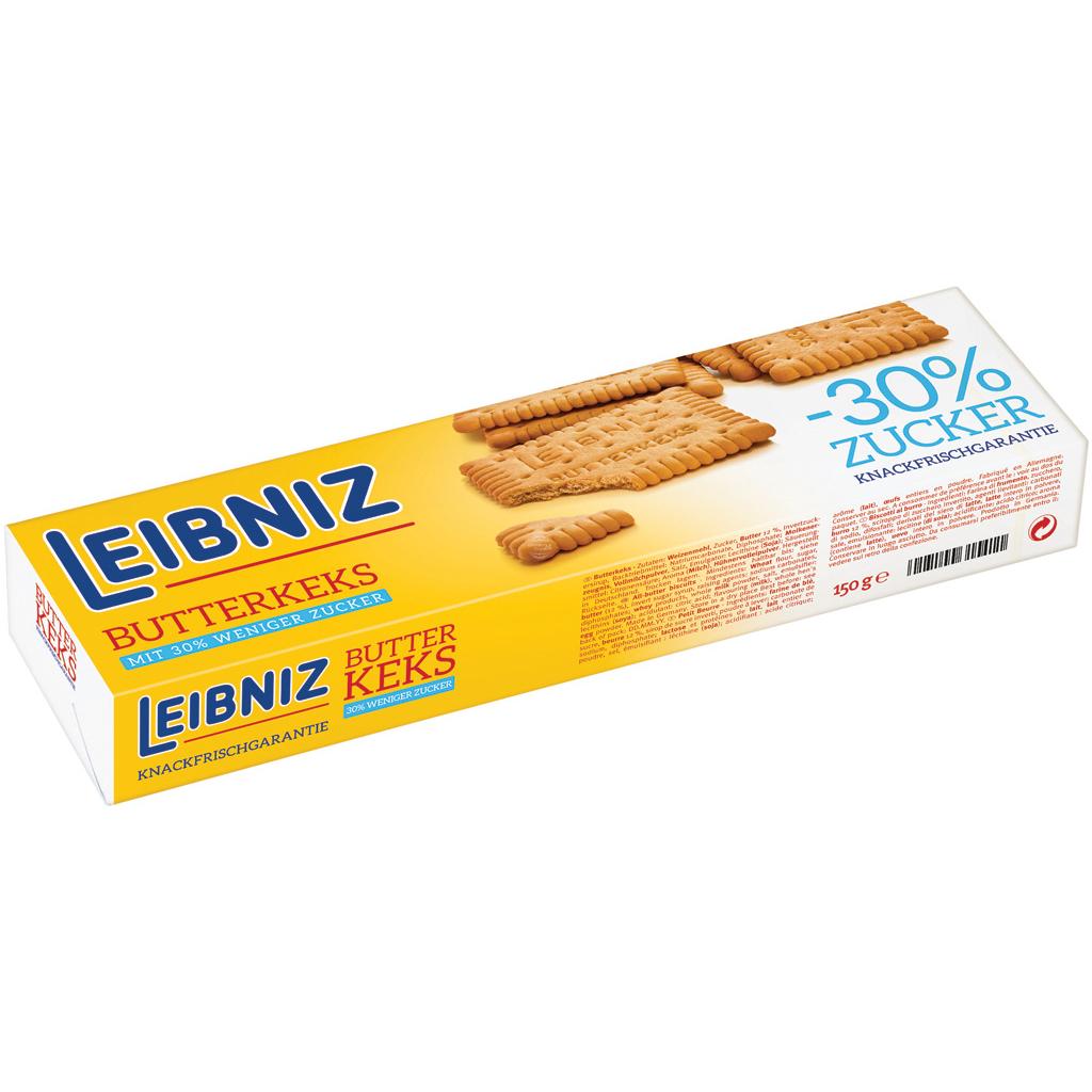 Bahlsen Leibniz Butter Biscuit low sugar