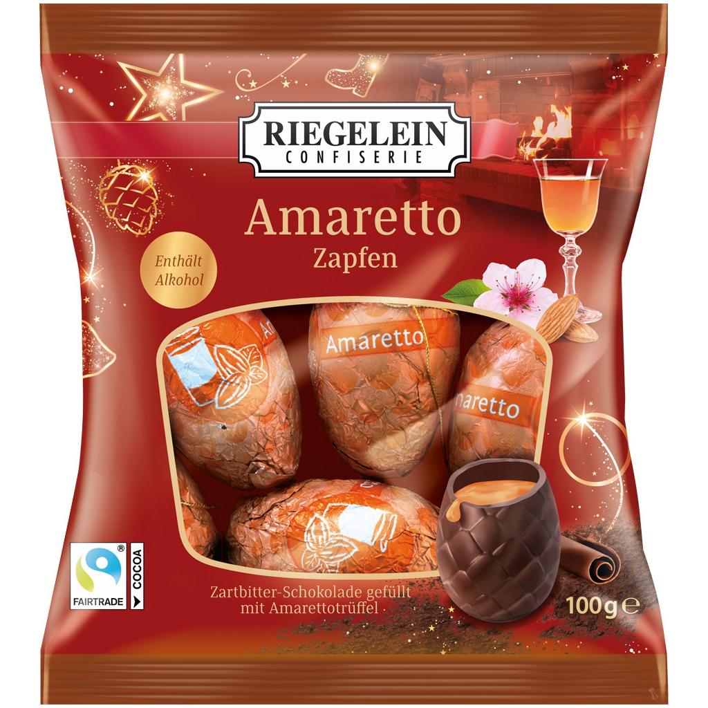 Amaretto FIlled Cones