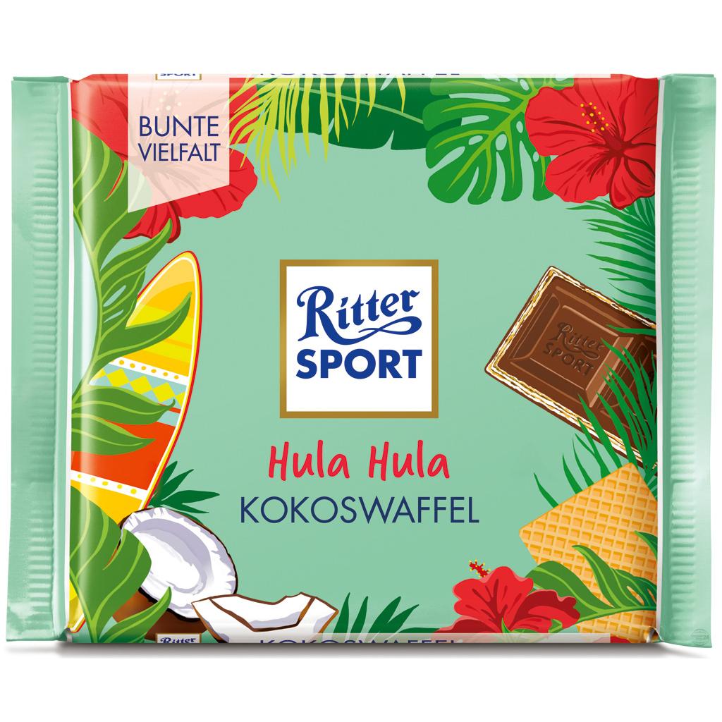 Hula Hula Coconut Wafer