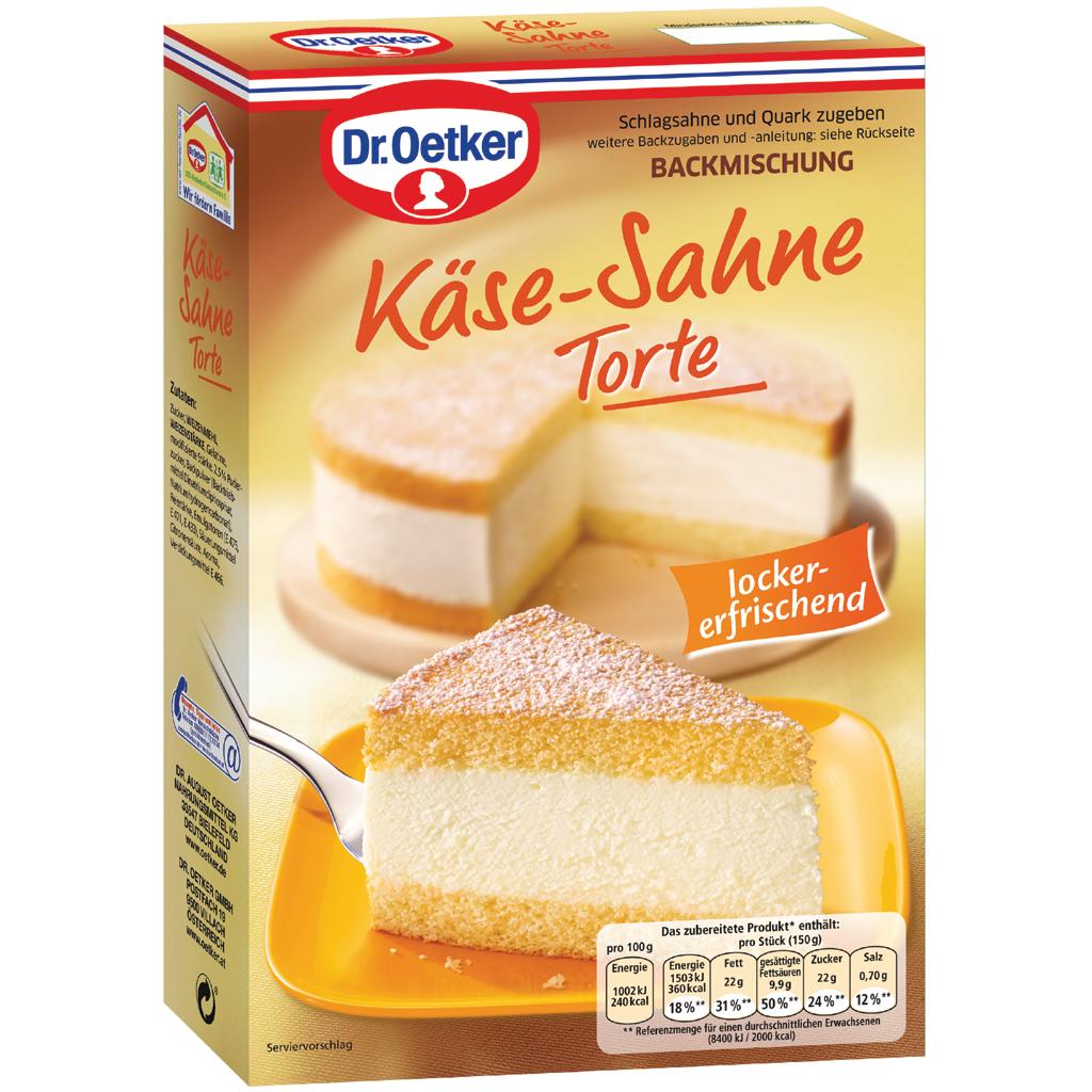 Dr Oetker Käse Sahne Torte Mix
