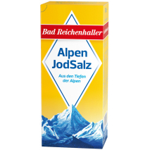Bad Reichenhaller Iodized Alpine Salt 17.6 oz Refill Package