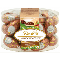 Lindt Cappuccino Truffle Filled Eggs Tub