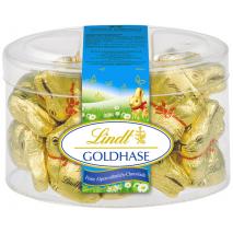 Lindt Mini Gold Bunnies 7.05 oz Tub