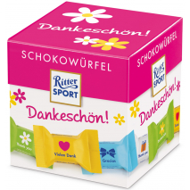 """Ritter Sport Chocolate Cubes """"Thank You"""""""