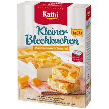 Kathi Mandarin Oranges in Sour Cream Sheet Cake Mix