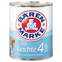 Baerenmarke Die Leichte 4% Fat, 12 oz Tin Can
