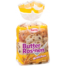 Harry Butter Raisin Buns 14.3 oz