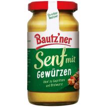 Bautzner Seasoned Mustard 6.76 fl.oz Jar