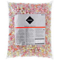 Rioba Hard Fruit Flavored Mini Candies 6.61 lbs Bulk Pack