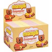 Sweet Stories Mampfi Edible Wafer Paper with Fruit Flavor, 200 Pcs, Box