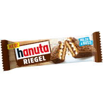 Ferrero Hanuta Snack Bar Individually Wrapped