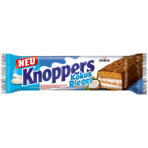 Storck Knoppers Coconut Bars Individually Wrapped