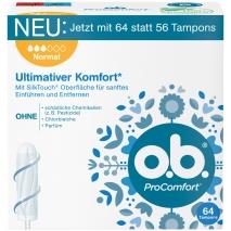 o.b. Tampons ProComfort Normal 64ct