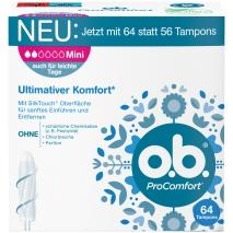 o.b. Tampons ProComfort Mini 64ct