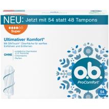 o.b. Tampons ProComfort Super 54ct