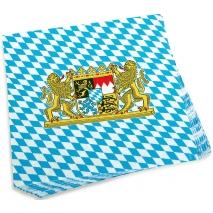20 Paper Napkins Bavaria 33 x 33 cm / 13 x 13 inches