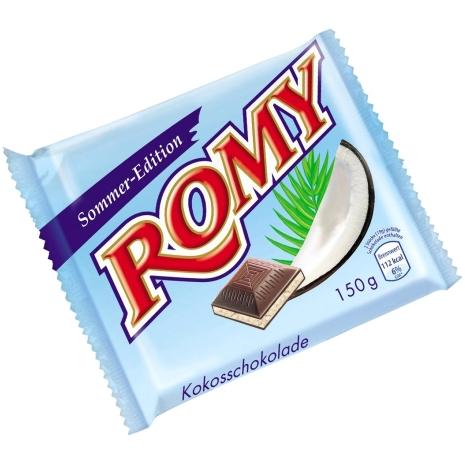 Romy Coconut Chocolate Summer Edition