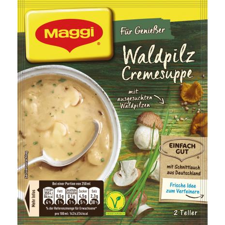 Maggi Für Genießer Creamy Wild Mushroom Soup