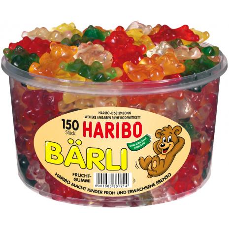 Haribo Baerli Tub
