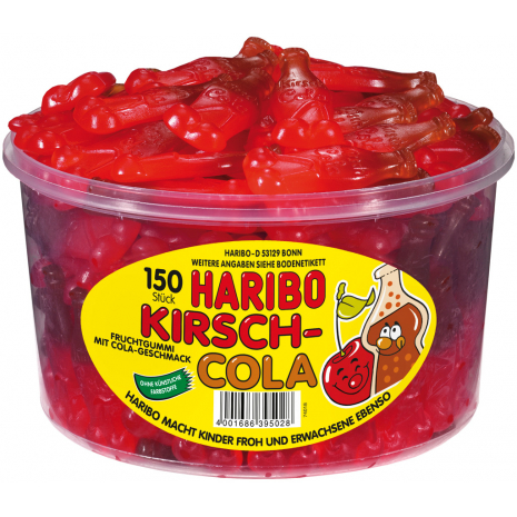 Haribo Cherry-Coke Tub