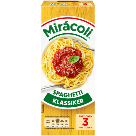 Miracoli Spaghetti with Tomato Sauce 3 Servings
